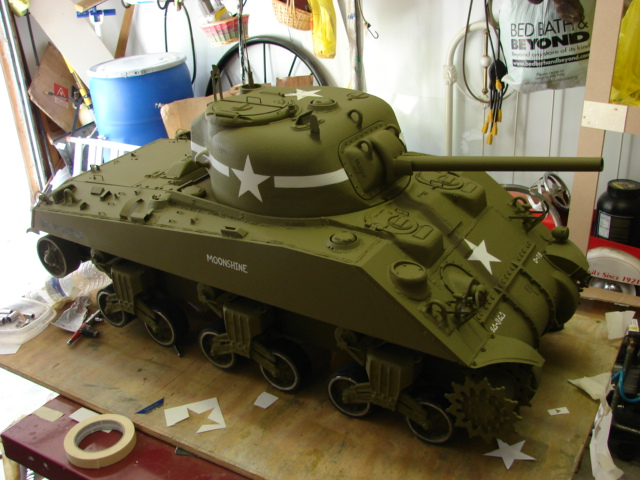 1/6th scale M4A4 Sherman Tank Project - Page 2 - RCU Forums